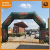 hot sale inflated entrance inflatable tube arch for races