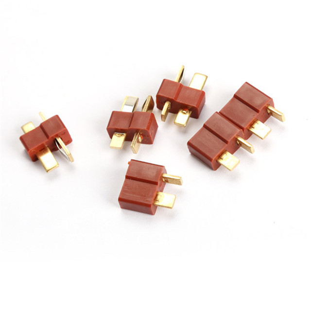 RC Lipo Battery Helicopter 10 Pair T Plug Connectors Male Female For Deans