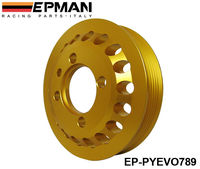 EPMAN LIGHT-WEIGHT CRANK PULLEY For Mitsubishi EVO 7 8 9 UNDERDRIVE LIGHT WEIGHT CRANK EP-PYEVO789