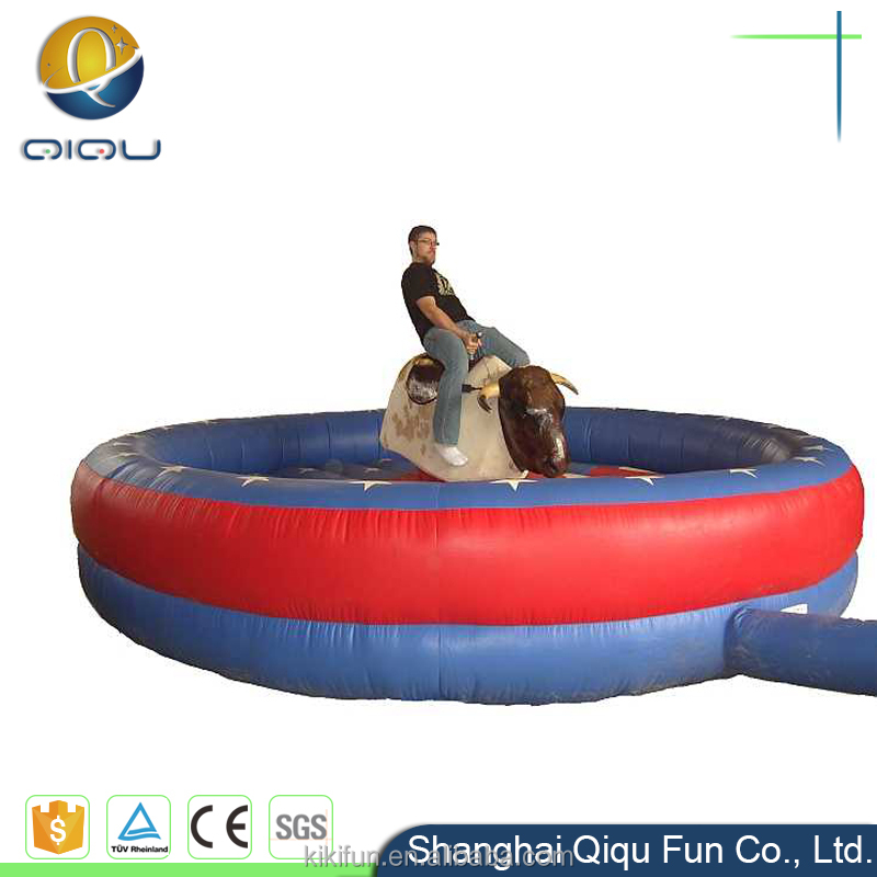 carnival games crazy kids inflatable mechanical bull rodeo for sale