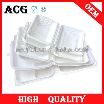 Customized Plastic food compartment tray
