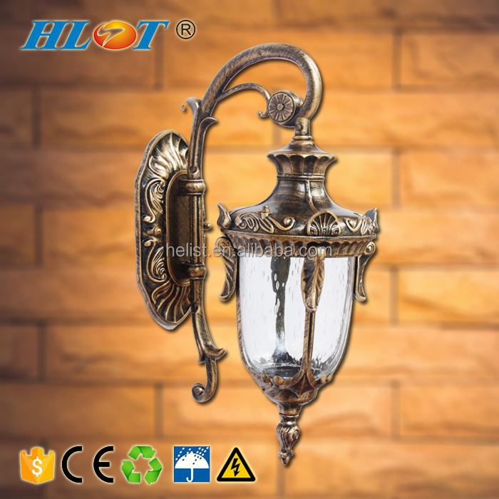 European waterproof outside wall sconce outdoor wall lamp