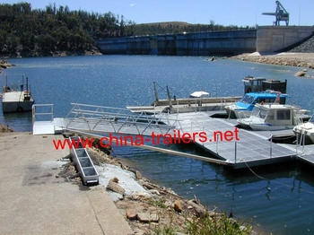 floating dock for jet ski and boats