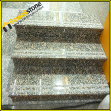 Natural stone prefabricated stairs