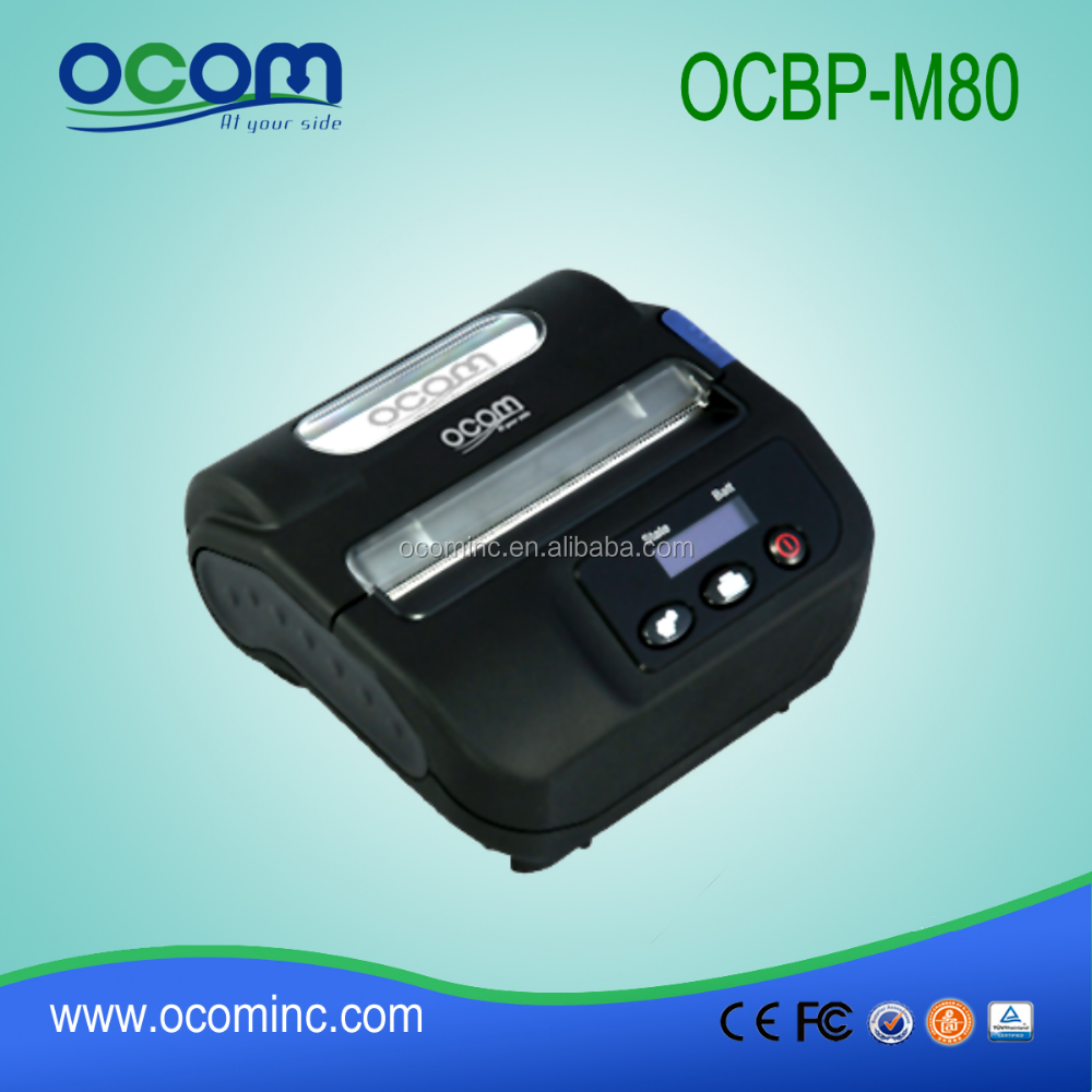 OCBP-M80 Handy Thermal label printer usb bluetooth printer