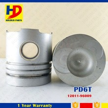 High Quality For Nissan Engine PD6 PD6T Piston Kit 12011-96009