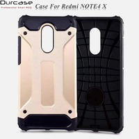 Hybrid PC 2 in 1 Armor Mobile Phone Cover Case For Redmi Note 4X ,For Xiaomi Redmi Note 4X Cover Case