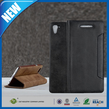 C&T 2015 Hot selling folding pu leather filp cover for htc desire 828 case