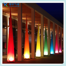 Colorful LED inflatable column/inflatable lighting pillar custom inflatable yard decoration hot sell