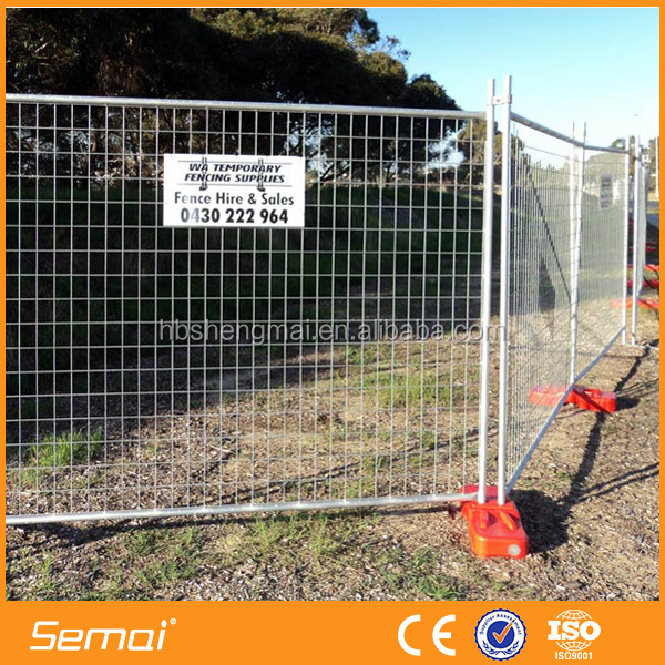 High quality temporary wood fencing ISO9001 factory