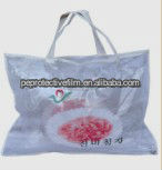 Printed PVC plastic bag for packaging pillows/promotion