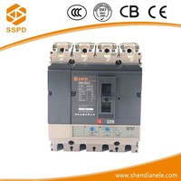 ISO9001 Electrical Fixed Type 690V 4P 200amp 225amp 250amp moulded case circuit breakers acb