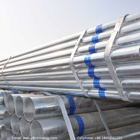 Conveying pipe galvanized steel plastic clad tube