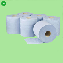 1ply blue centre feed roll towel