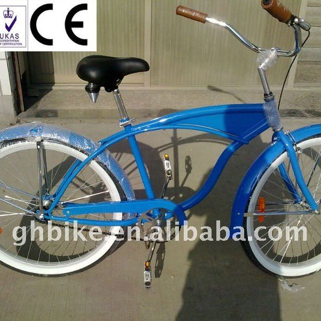 26inch new style steel beach cruier bike
