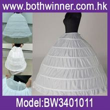 Hot new products for 2016 underskirt petticoat ,h0tw3 petticoat wedding dress for sale