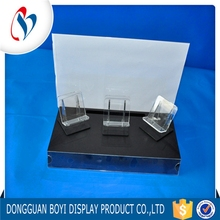 New Clear Acrylic Display Stand Wholesale Sale Cell Phone Accessories Display