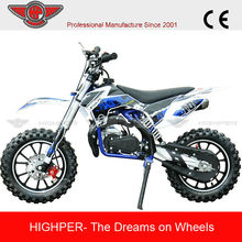 Newest Style Dirt Bike Mini Motorcycle Off Road with CE For Kids Gas-powered 2 Stroke(DB710)