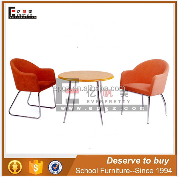 Guangzhou factory wooden tea table with two chairs for janpese