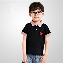 2014 SUMMER KOREAN NEWEST STYLES FASHION SHORT SLEEVE BLANK POLO CHILD CLOTHES T-SHIRT (M20181A)