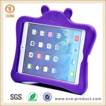 For silicone ipad case for kids , Children cute case for ipad mini,cover for mini ipad tablet