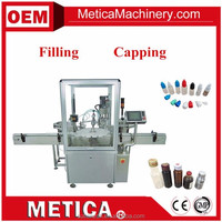 MTFC-1000 Automatic Round Bottle Filling Plugging-In Capping Machine