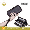 Design Genuine Leather Travel Wallet Clutch Bag for Men with Multi-comparments Interior