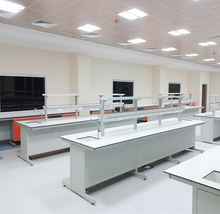 Chinese lab furniture Chemistry biology laboratory furniture/epoxy resin table top/dental lab bench