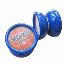 Wholesale Good quality Red and Blue color Plastic <strong>YOYO</strong> in size 5.6cm Free Shipping