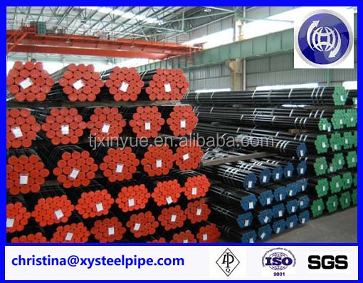 sch40 mild carbon seamless steel pipe / seamless pipe for line pipe/ steel price for oil line
