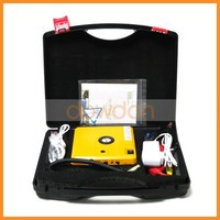 new product portable car jump starter with tire air pump compressor emergency hammer knife led light dual usb