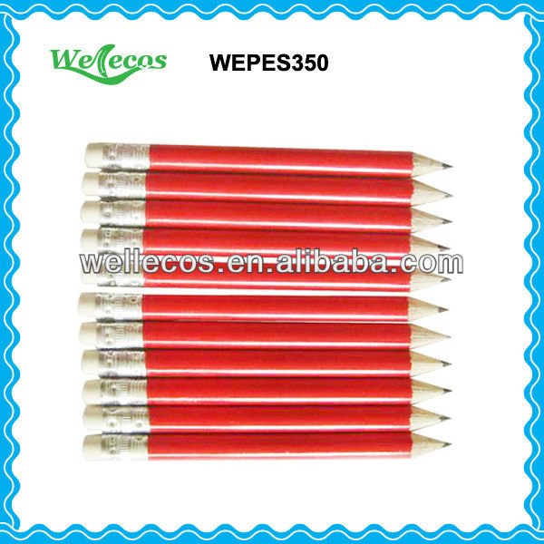 Imprinted Golf Pencil for Promotion (HB Wooden Pencils)