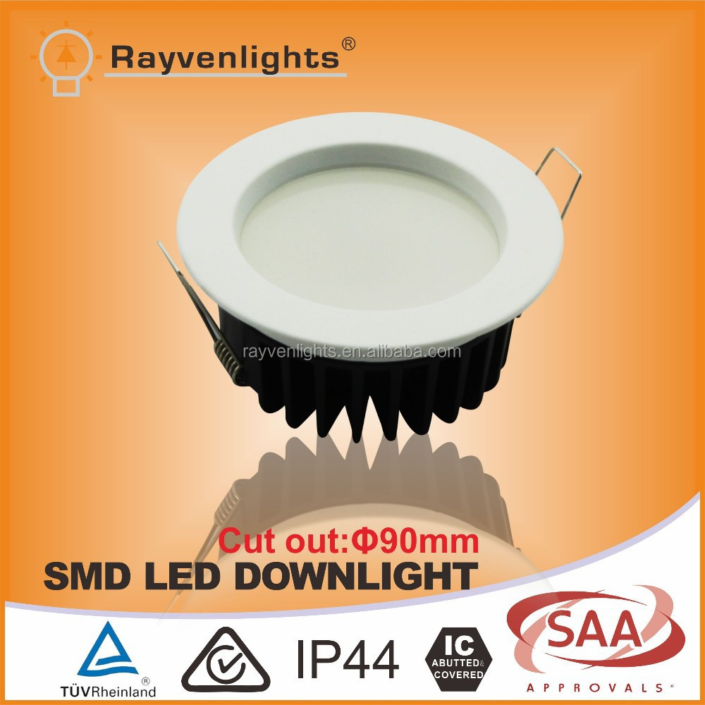 SAA 12W EPISTAR SMD LED Down light Including Dimmable Driver and Plug,Ra>80