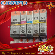 NEW!! Original ink Cartridge for Canon PG820 CL821 use with pixma ix5000/ip3680, ip4680 inkjet printer