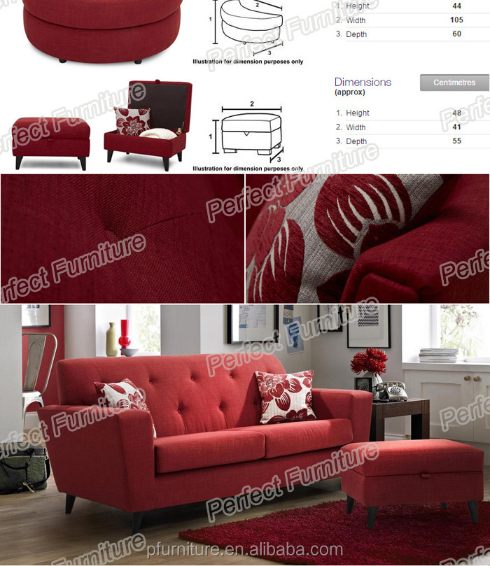 Hot sale unfold wood furniture fabric sofa bed.