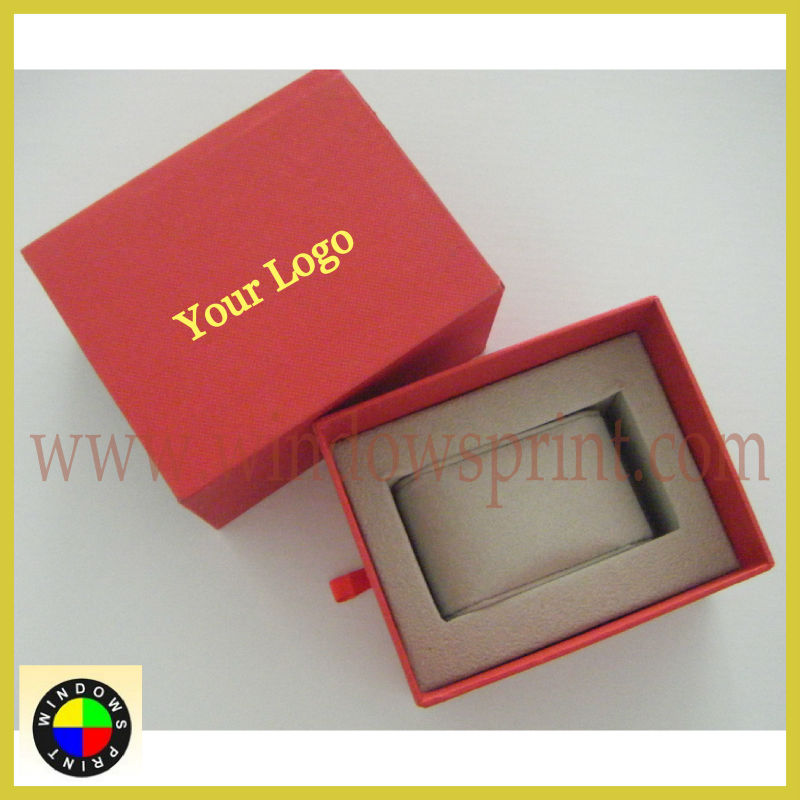 Luxury Sliding Drawer Watch Box /Watch packaging box