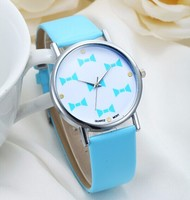 Leather Band Whatever I am late Anyway Watch Women Fashion Wrist Watch Geneva Quartz Watch Relogio Feminino