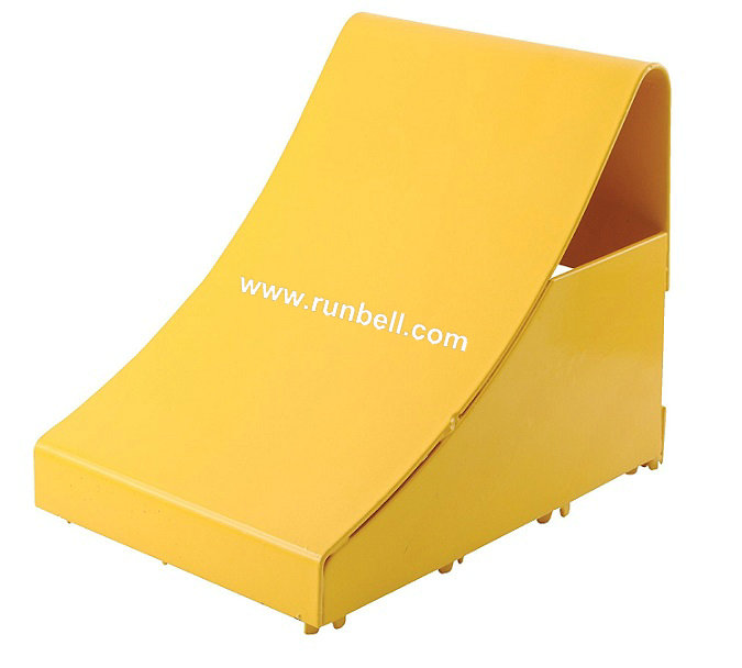 Rubber Truck Wheel Chock Block
