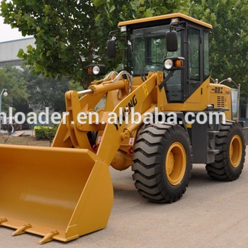 China factory supply 1 ton mini wheel loader for tractor front end loader