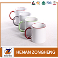 white ceramic mugs bulk 12 oz from china Color glaze 12oz