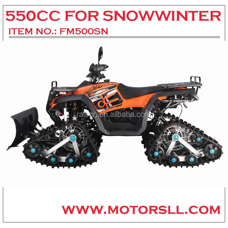 4x4 ATV 600cc snow track China atv 4*4big power