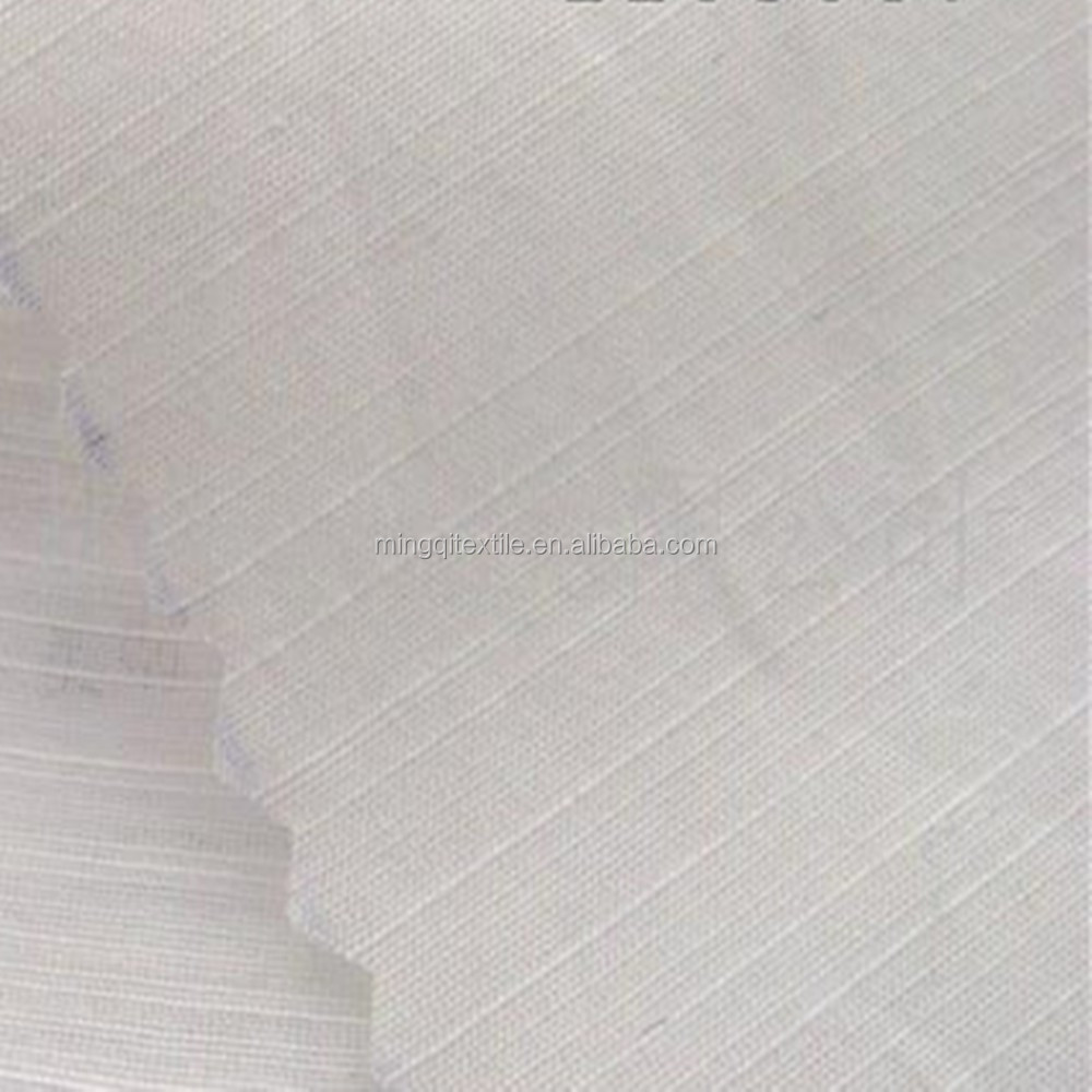 100% Polyester Slub Twill Fabric Thin Curtain Fabric Lightweight Fabric