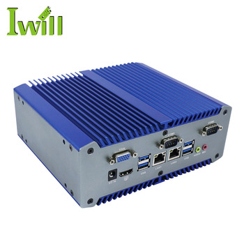 Hot-sale industrial fanless mini pc x86 Intel Celeron 3865U DDR4 memory computer with RS485