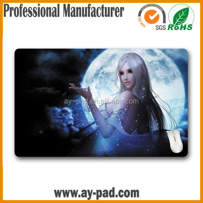AY mousepad for computer accessories , accept paypal advertising play mat