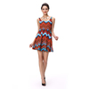 2016 wholesale fashion african printed new party woman dress