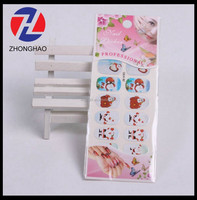 2015 new arrived specail machine made various design fancy popular Christmas nail decor