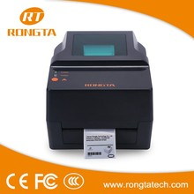 203DPI white thermal transfer printing waterproof barcode label printer