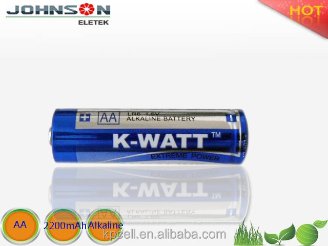 JOHNSON ELETEK LR6 AA 1.5V alkaline battery in shortsupply