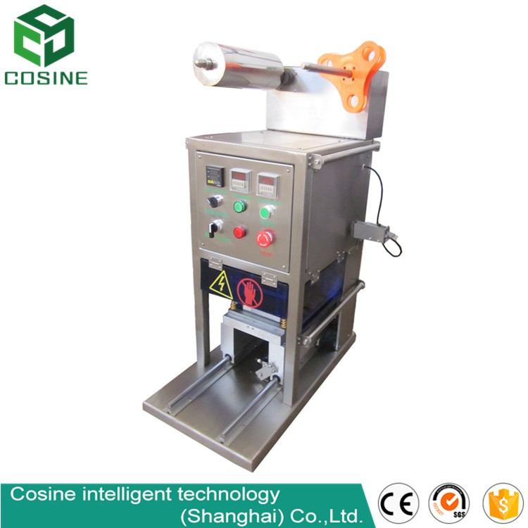 high quality cup sealer/plastic cup sealing machine