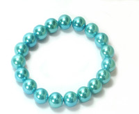 Crystal Adjustable Strench Bracelets pulseras Charm Imitation Pearl Beads Bracelets For Women Jewelry